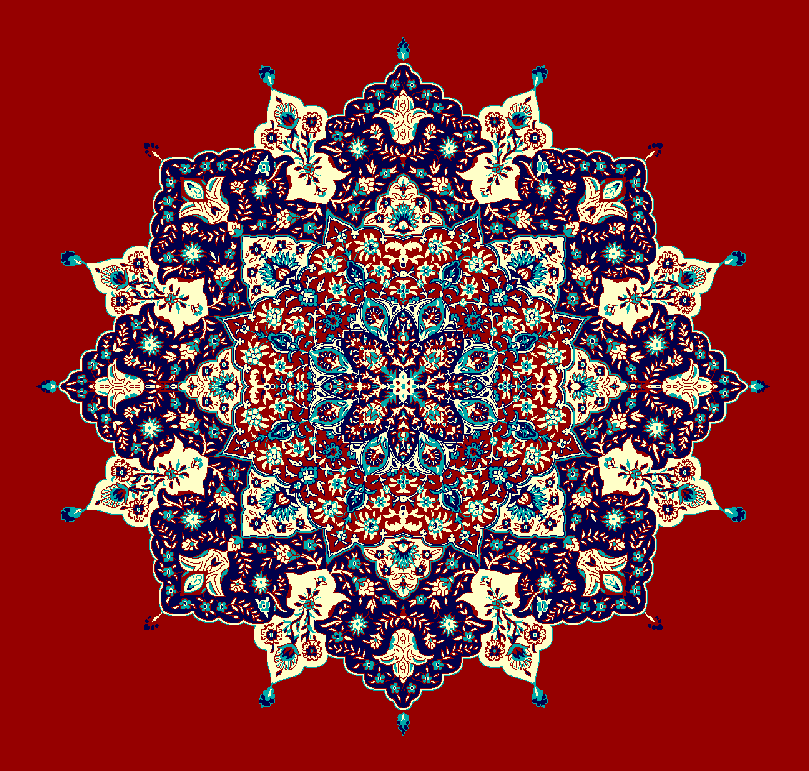 ZENTRIERMUSTER MODELL 3030 - Rot
