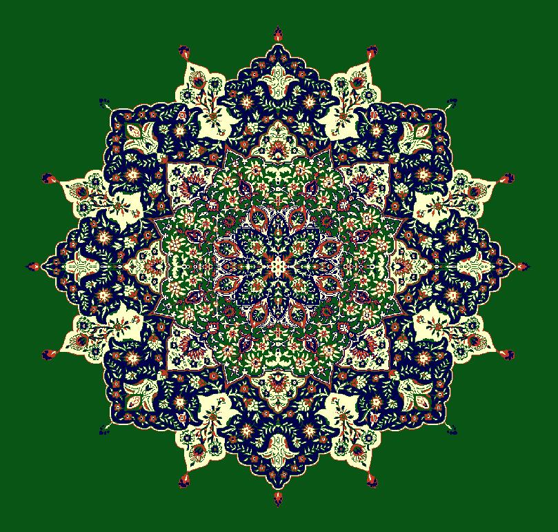 ZENTRIERMUSTER MODELL 3030 - Grün