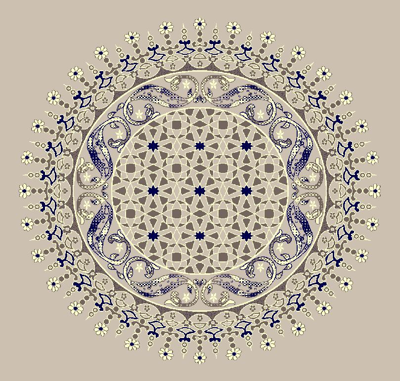 ZENTRIERMUSTER MODELL 3080 - Naturel