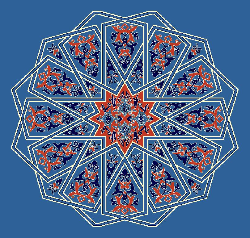 ZENTRIERMUSTER MODELL 3130 - Blau