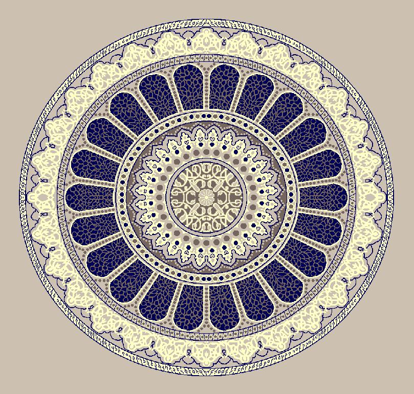 ZENTRIERMUSTER MODELL 3160 - Naturel