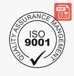 ISO 9001 Sertifika