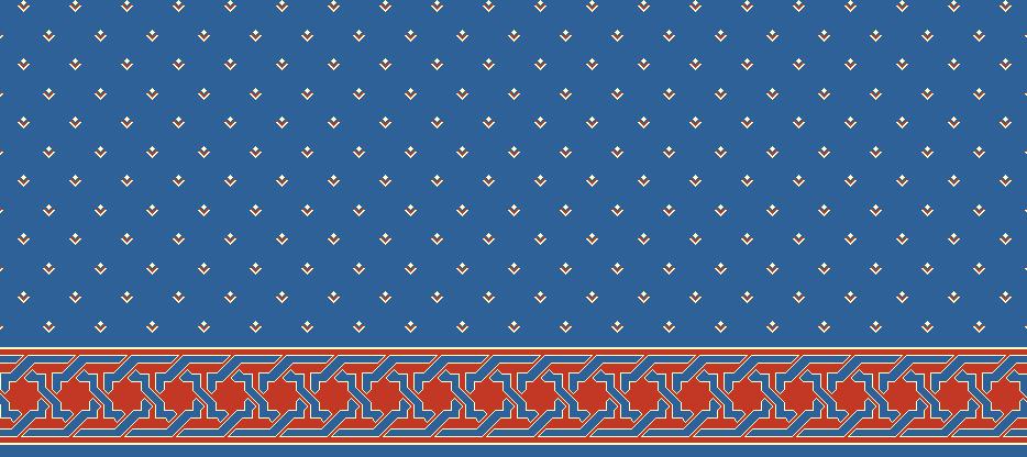 SAFLINIEN MODELL 1010 - Blau
