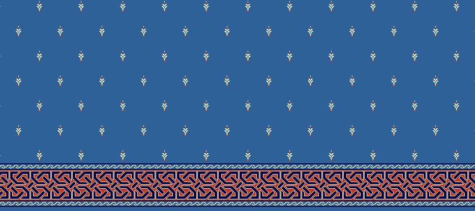 SAFLINIEN MODELL 1040 - Blau