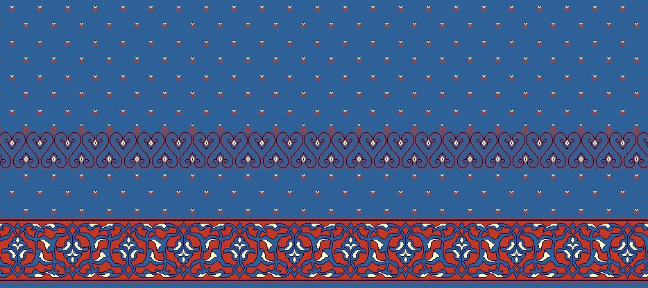 SAFLINIEN MODELL 1050 - Blau