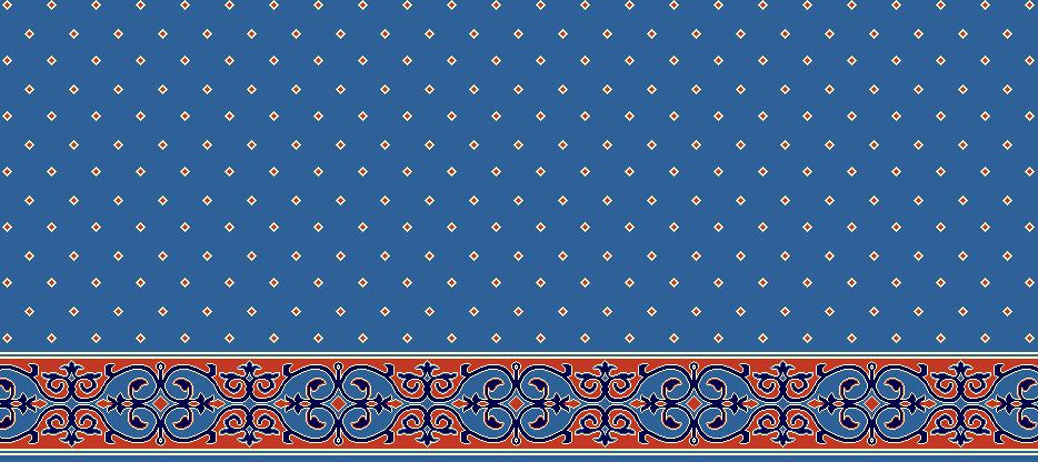 SAFLINIEN MODELL 1070 - Blau