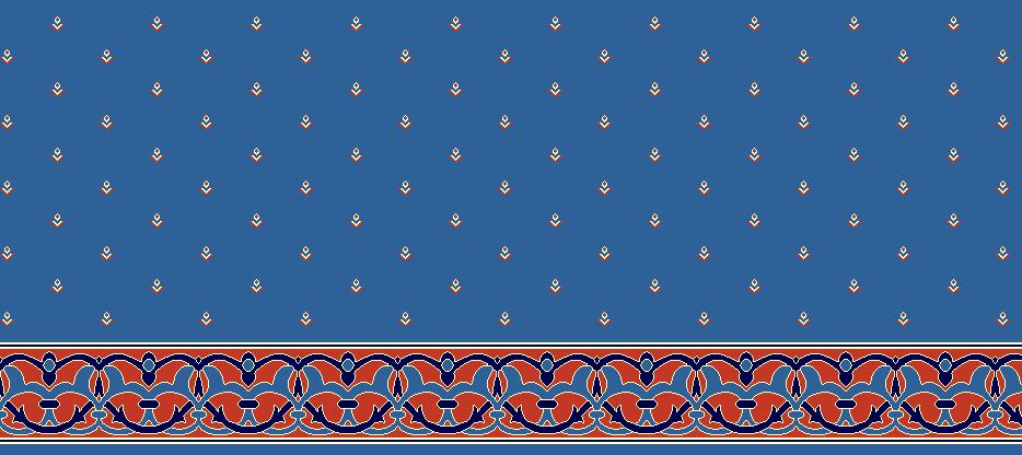 SAFLINIEN MODELL 1165 - Blau