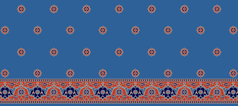 SAFLINIEN MODELL 1215 - Blau