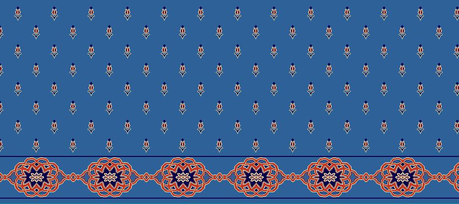 SAFLINIEN MODELL 1240 - Blau
