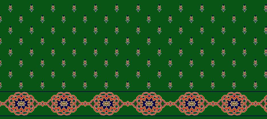SAFLINIEN MODELL 1240 - Grün